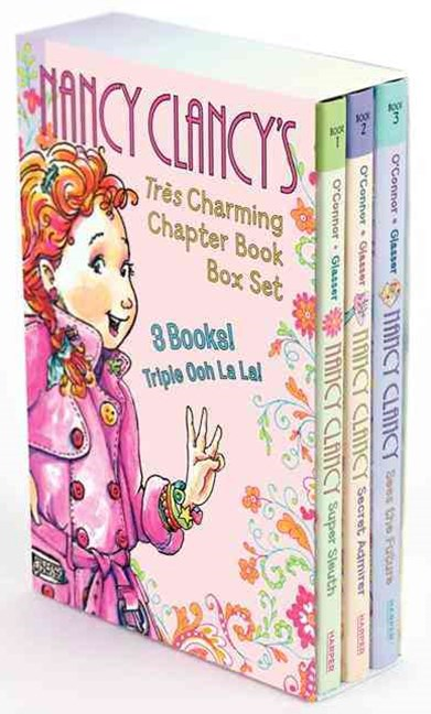 Nancy Clancy's Tres Charming Chapter Book Box Set