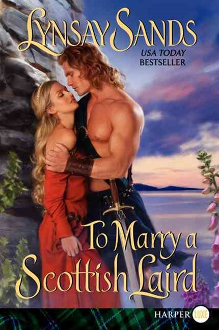 To Marry A Scottish Laird [Large Print]