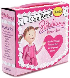 Pinkalicious Phonics 12 Books Box Set