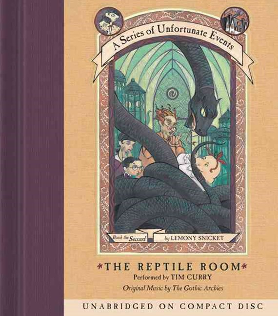 A Series of Unfortunate Events #2: The Reptile Room [Unabridged CD]