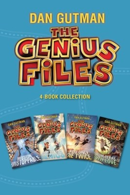 (ebook) The Genius Files 4-Book Collection
