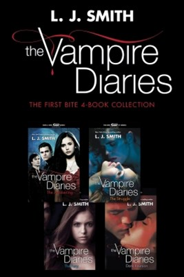 (ebook) Vampire Diaries: The First Bite 4-Book Collection