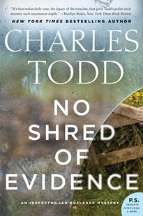 No Shred Of Evidence by Charles Todd (9780062386199) - PaperBack - Crime Mystery & Thriller