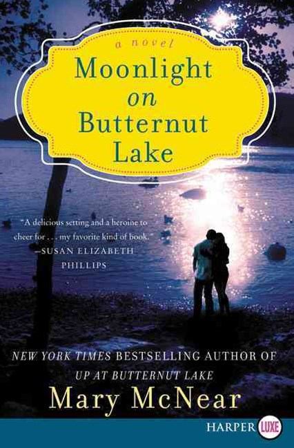 Moonlight On Butternut Lake: A Novel [Large Print]