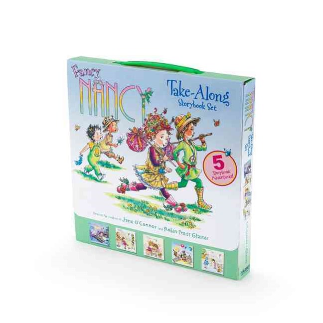 Fancy Nancy Take-Along Storybook Set