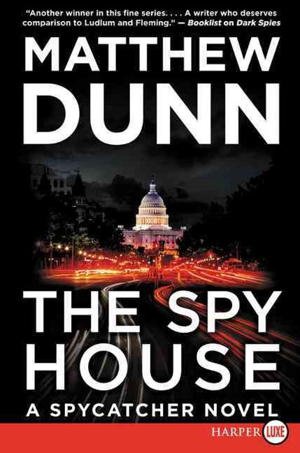 The Spy House Large Print: A Spycatcher Novel
