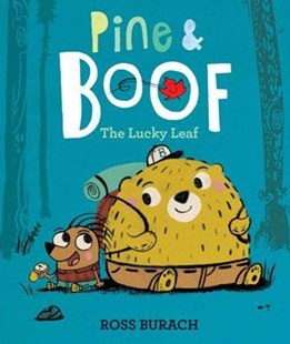 Pine & Boof: The Lucky Leaf by Ross Burach (9780062418500) - HardCover - Children's Fiction Early Readers (0-4)