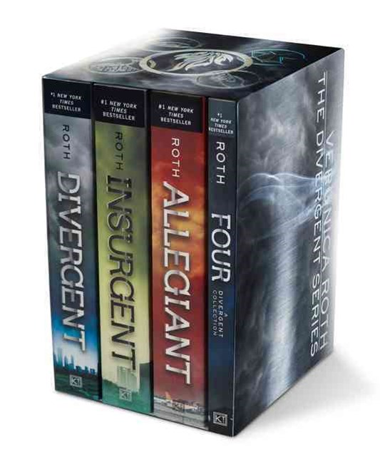 Divergent Series Four-Book Paperback Box Set