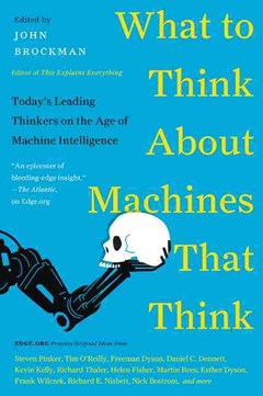 What to Think About Machines That Think: Today