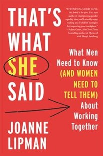 Women, Men, and Work by Joanne Lipman (9780062437211) - HardCover - Business & Finance Management & Leadership