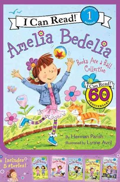 Amelia Bedelia I Can Read Box Set #2: Books Are A Ball Collection [5 books]
