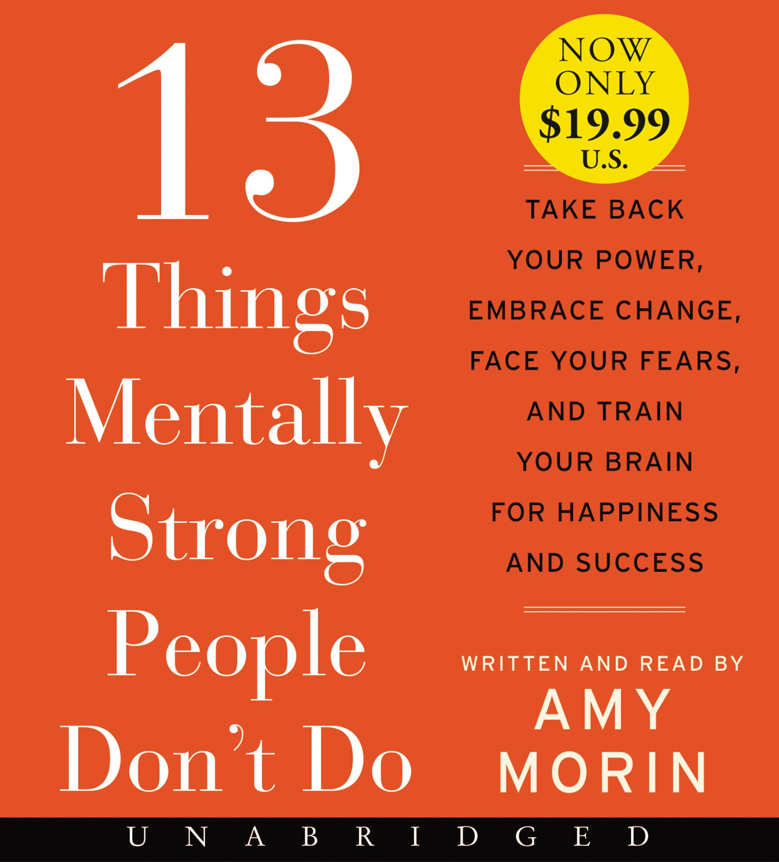 13 Things Mentally Strong People Don't Do [Unabridged Low Price CD]