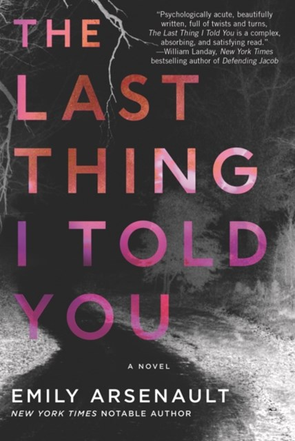 (ebook) Last Thing I Told You