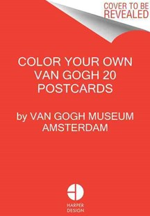 Color Your Own Van Gogh 20 Postcards - Craft & Hobbies Puzzles & Games