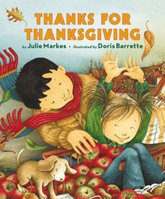 Thanks For Thanksgiving Board Book