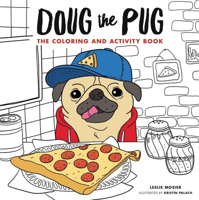 Doug The Pug: The Coloring Book