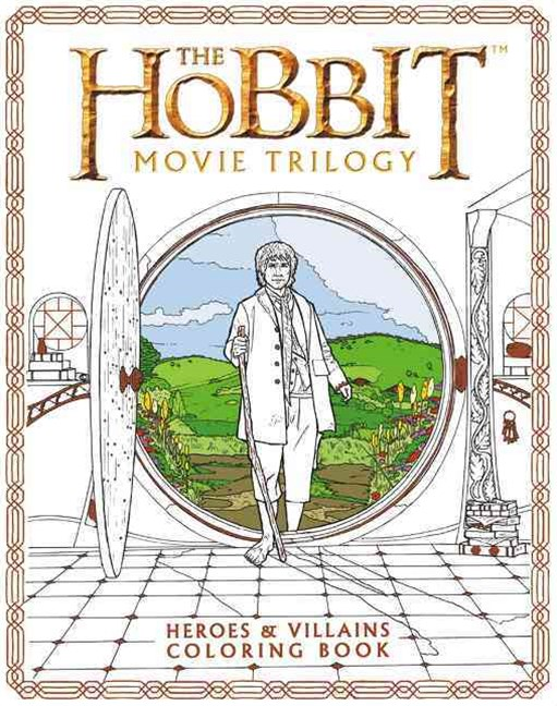 The Hobbit Movie Trilogy Coloring Book
