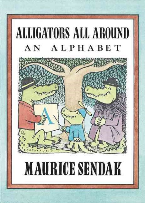 Alligators All Around Board Book