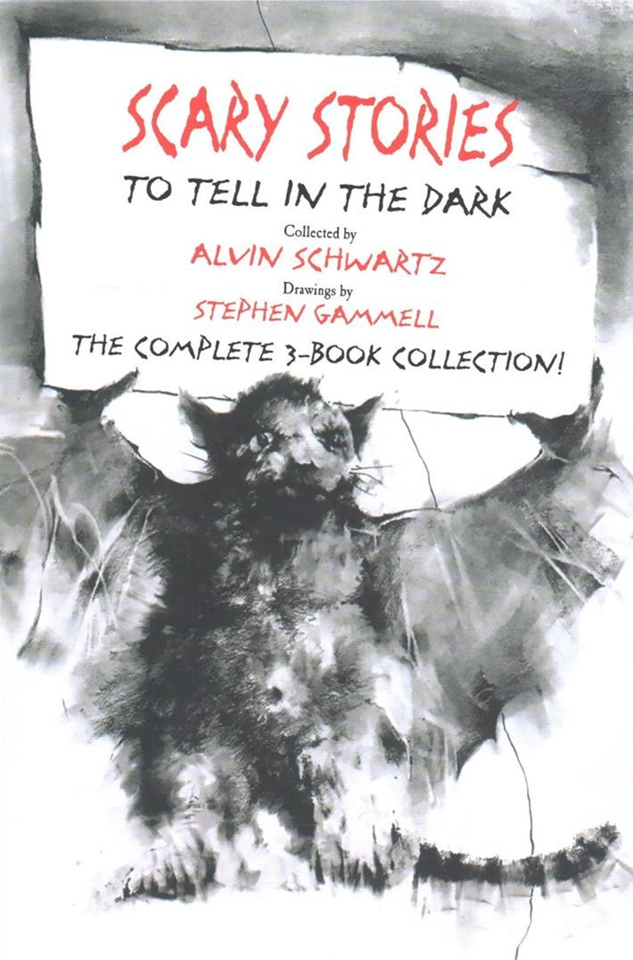 Scary Stories Paperback Box Set