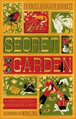 The Secret Garden: Illustrated With Interactive Elements
