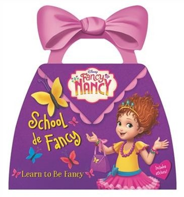 Fancy Nancy TV Tie-in Purse Board Book