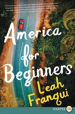 America For Beginners: A Novel [Large Print]