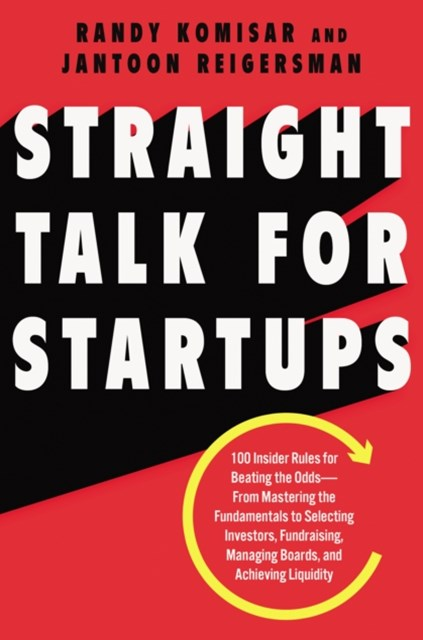 (ebook) Straight Talk for Startups
