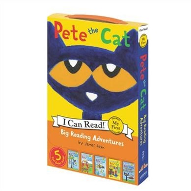 Pete the Cat: Big Reading Adventures Box Set: 5 Far-Out Books in 1 Box!