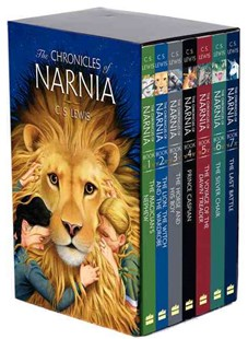 The Chronicles of Narnia by C. S. Lewis, Chris Van Allsburg, Pauline Baynes, C. S. Lewis, Pauline Baynes (9780064405379) - PaperBack - Children's Fiction Classics