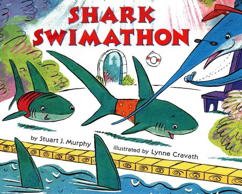 Shark Swimathon: Level Three: Subracting Two-Digit Numbers