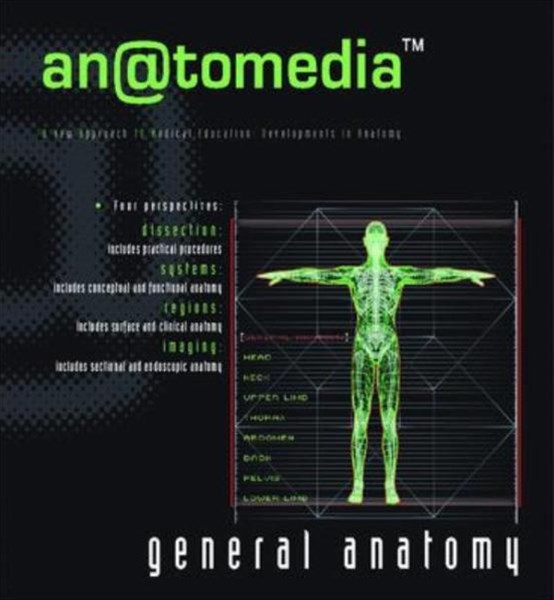 General Anatomy Cd Rom