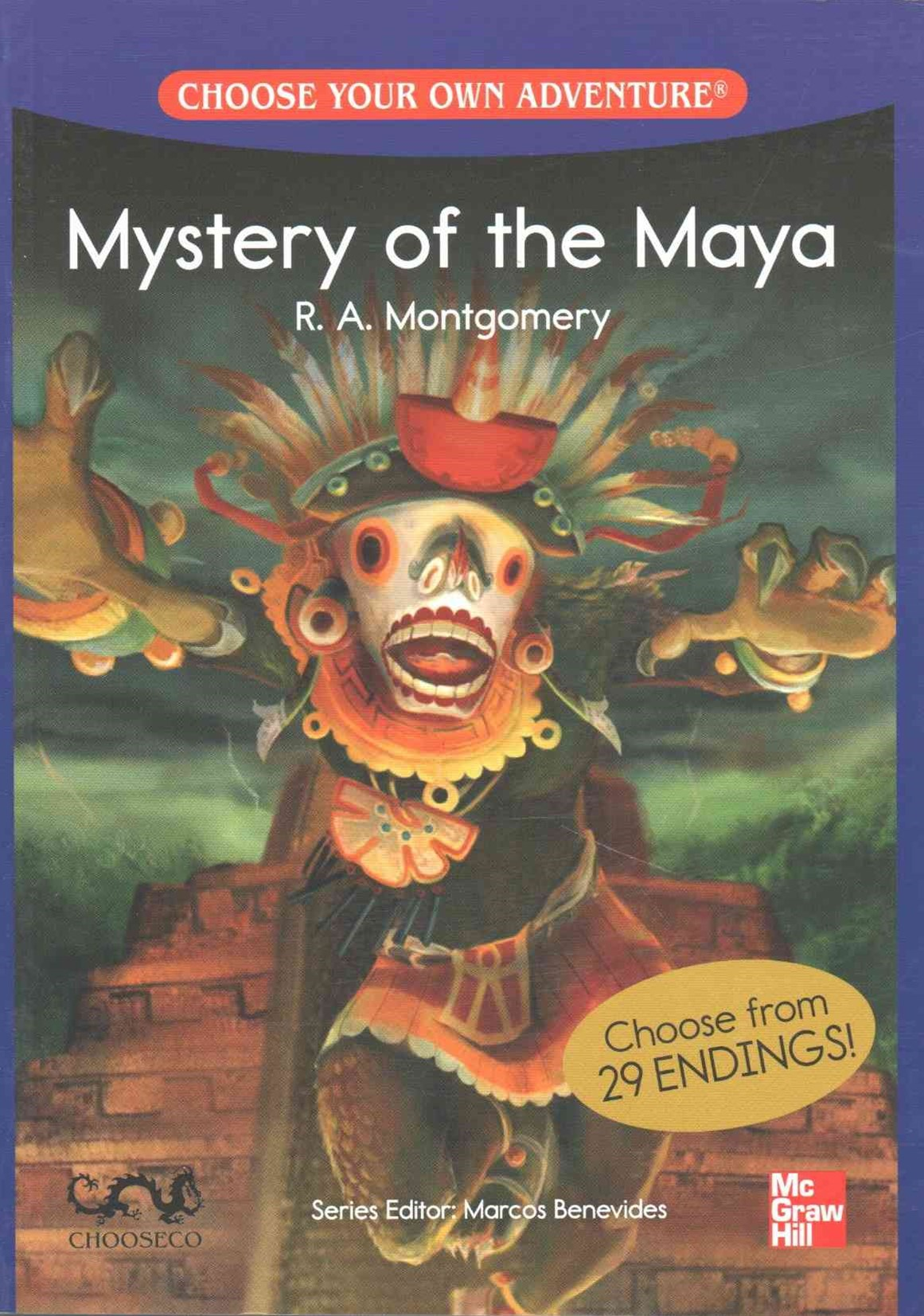 Choose Your Own Adventure - Mystery of the Maya - 500 Headwords