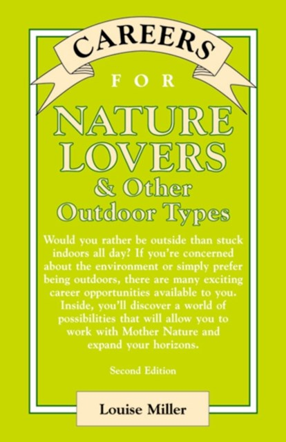 Careers for Nature Lovers & Other Outdoor Types