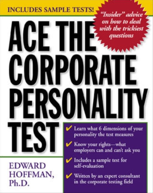 (ebook) Ace the Corporate Personality Test