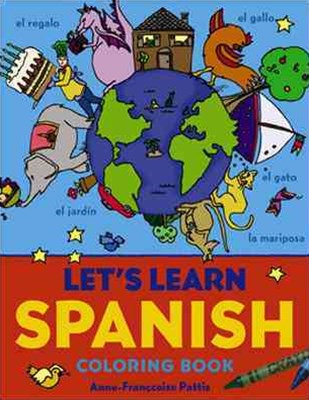 Let's Learn Spanish Coloring Book