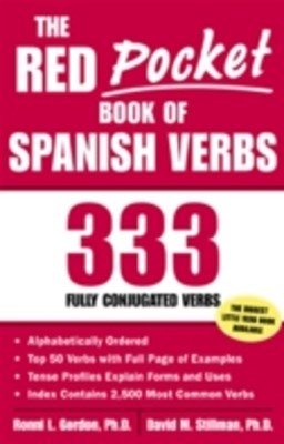 Red Pocket Book of Spanish Verbs