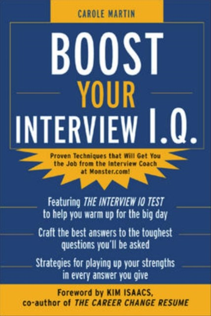 (ebook) Boost Your Interview IQ