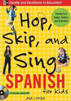 Hop, Skip, and Sing Spanish for Kids