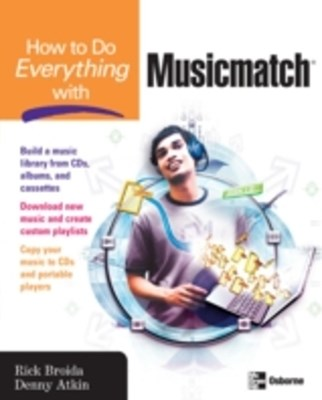 (ebook) How to Do Everything with Musicmatch