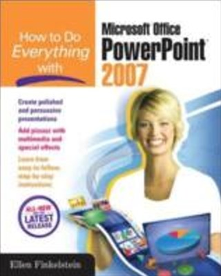 (ebook) How to Do Everything with Microsoft Office PowerPoint 2007