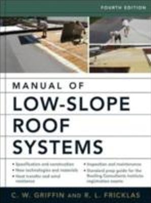 (ebook) Manual of Low-Slope Roof Systems