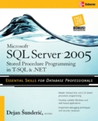 (ebook) Microsoft SQL Server 2005 Stored Procedure Programming in T-SQL & .NET