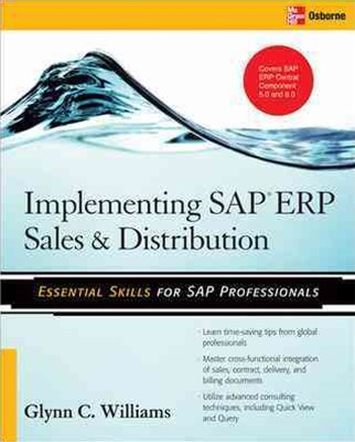 Implementing SAP ERP Sales and Distribution