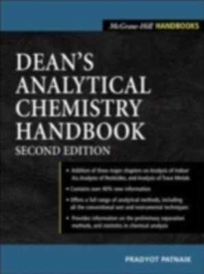 (ebook) Dean's Analytical Chemistry Handbook