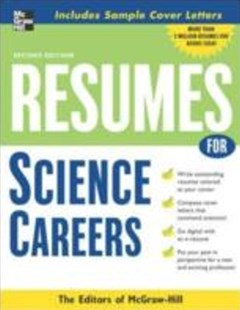 (ebook) Resumes for Science Careers - Business & Finance Careers