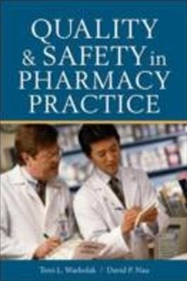 (ebook) Quality and Safety in Pharmacy Practice