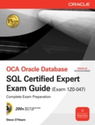 (ebook) OCE Oracle Database SQL Certified Expert Exam Guide (Exam 1Z0-047)