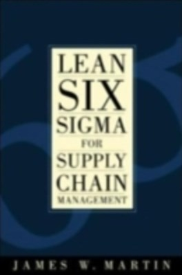(ebook) Lean Six Sigma for Supply Chain Management