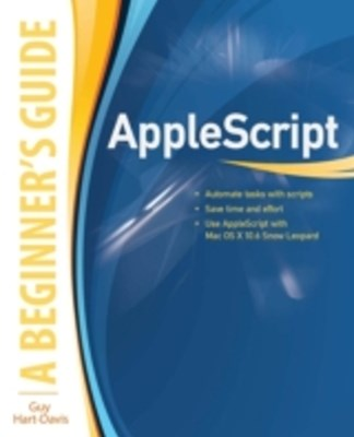 (ebook) AppleScript: A Beginner's Guide