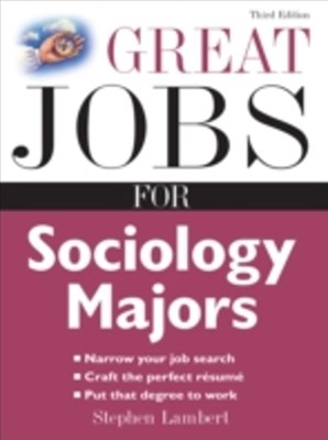 Great Jobs for Sociology Majors